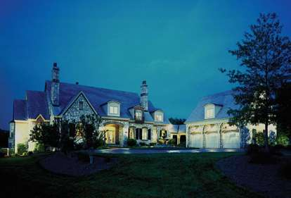 5 Bed, 4 Bath, 5155 Square Foot House Plan - #3323-00508