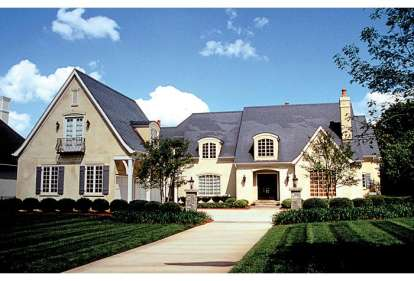 6 Bed, 5 Bath, 5388 Square Foot House Plan - #3323-00509