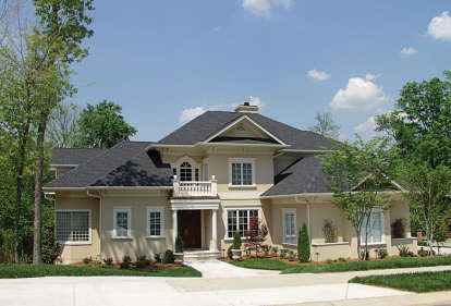 6 Bed, 7 Bath, 7822 Square Foot House Plan - #3323-00520