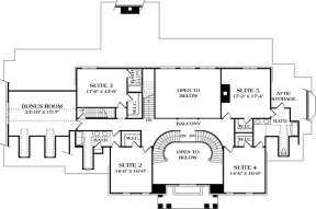 Floorplan 2 for House Plan #3323-00524