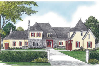 5 Bed, 6 Bath, 10156 Square Foot House Plan - #3323-00528