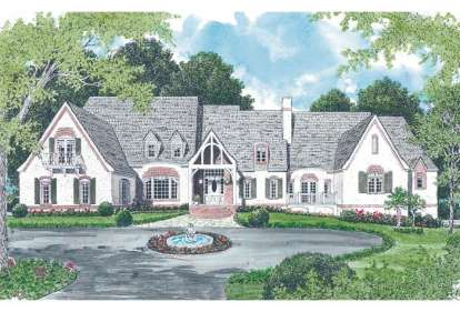 4 Bed, 4 Bath, 10248 Square Foot House Plan - #3323-00529