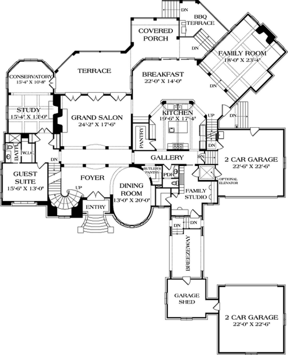 Luxury Plan 10 467 Square Feet 6 Bedrooms 6 5 Bathrooms 3323 00530