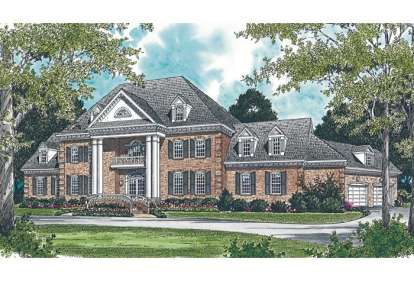 4 Bed, 5 Bath, 11110 Square Foot House Plan #3323-00531