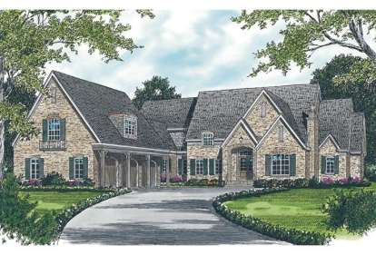 6 Bed, 6 Bath, 8733 Square Foot House Plan - #3323-00532
