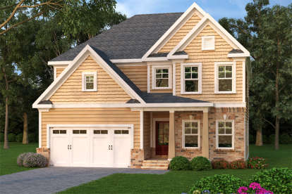 4 Bed, 3 Bath, 2330 Square Foot House Plan - #009-00113