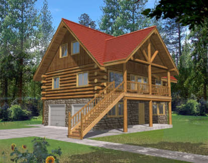 2 Bed, 2 Bath, 1485 Square Foot House Plan - #039-00064