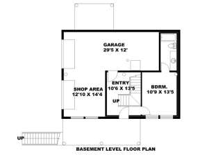 Lower Level for House Plan #039-00064
