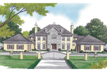 5 Bed, 5 Bath, 6909 Square Foot House Plan - #3323-00547