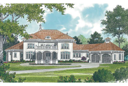 5 Bed, 7 Bath, 9838 Square Foot House Plan - #3323-00548