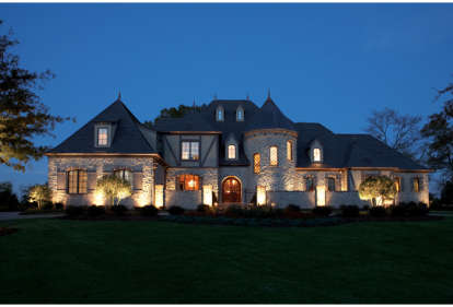 7 Bed, 7 Bath, 8933 Square Foot House Plan - #3323-00561
