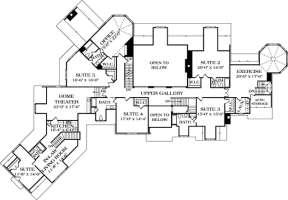 Floorplan 2 for House Plan #3323-00562