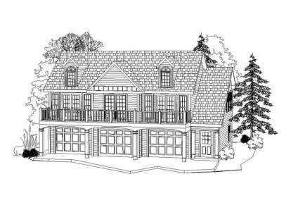 2 Bed, 1 Bath, 1035 Square Foot House Plan #957-00035