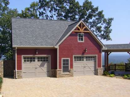 1 Bed, 1 Bath, 906 Square Foot House Plan #957-00036