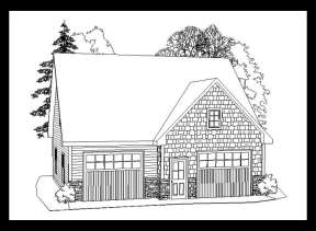House Plan #957-00036 Elevation Photo