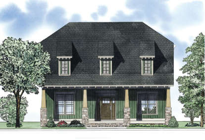 3 Bed, 3 Bath, 2296 Square Foot House Plan - #110-00856