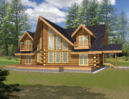 3 Bed, 2 Bath, 2870 Square Foot House Plan - #039-00072