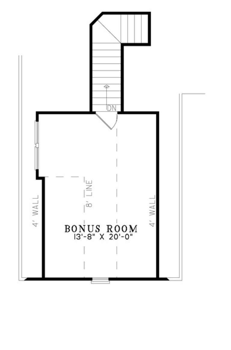 Floorplan 2 for House Plan #110-00866