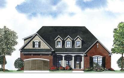 4 Bed, 2 Bath, 2083 Square Foot House Plan - #110-00867