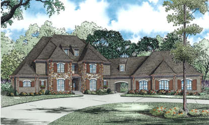 4 Bed, 5 Bath, 5100 Square Foot House Plan - #110-00871