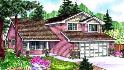 4 Bed, 2 Bath, 2015 Square Foot House Plan - #035-00377