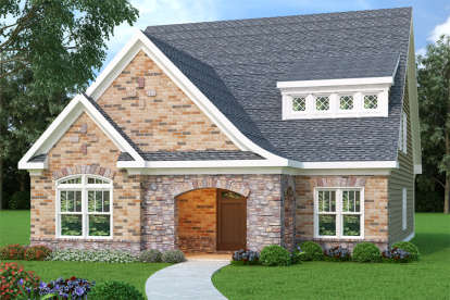 4 Bed, 2 Bath, 2307 Square Foot House Plan - #009-00116
