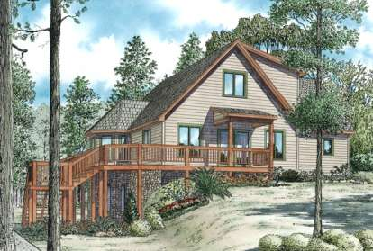 3 Bed, 2 Bath, 2340 Square Foot House Plan - #110-00892