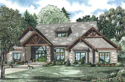 4 Bed, 3 Bath, 3580 Square Foot House Plan #110-00904