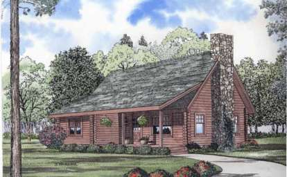 2 Bed, 2 Bath, 1382 Square Foot House Plan - #110-00906