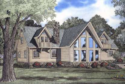 3 Bed, 2 Bath, 3341 Square Foot House Plan - #110-00911