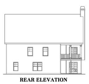 Craftsman House Plan #009-00117 Elevation Photo