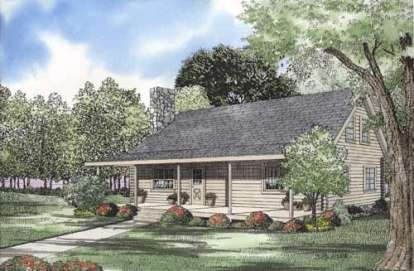 4 Bed, 2 Bath, 1769 Square Foot House Plan - #110-00929