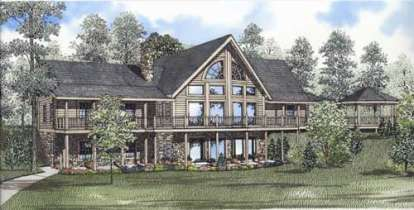 2 Bed, 2 Bath, 3222 Square Foot House Plan - #110-00933