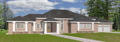 3 Bed, 2 Bath, 2778 Square Foot House Plan - #039-00101