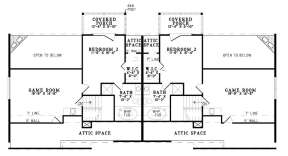 Floorplan 2 for House Plan #110-00956