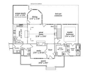 Floorplan 2 for House Plan #957-00049