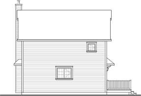 Cottage House Plan #034-01048 Elevation Photo