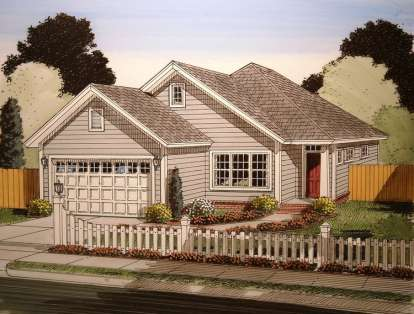 3 Bed, 2 Bath, 1545 Square Foot House Plan - #4848-00006