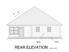 Bungalow  House Plan #4848-00006 Elevation Photo