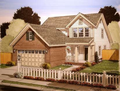 3 Bed, 2 Bath, 1549 Square Foot House Plan - #4848-00010