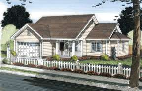 Bungalow  House Plan #4848-00031 Elevation Photo