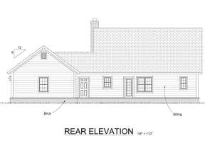 Craftsman House Plan #4848-00040 Elevation Photo