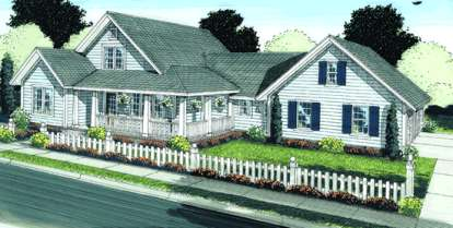 3 Bed, 3 Bath, 2575 Square Foot House Plan - #4848-00062
