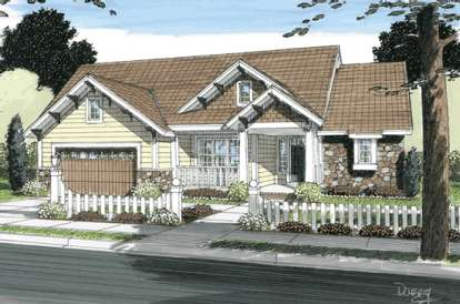 3 Bed, 2 Bath, 2056 Square Foot House Plan - #4848-00078