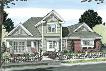 3 Bed, 2 Bath, 2190 Square Foot House Plan - #4848-00082