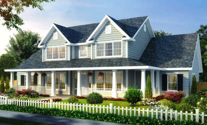 3 Bed, 3 Bath, 2481 Square Foot House Plan - #4848-00093