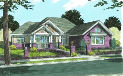 3 Bed, 2 Bath, 2194 Square Foot House Plan - #4848-00111
