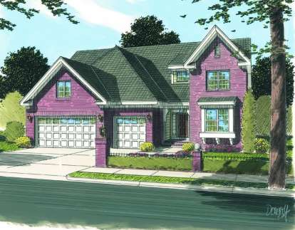3 Bed, 2 Bath, 2171 Square Foot House Plan - #4848-00113