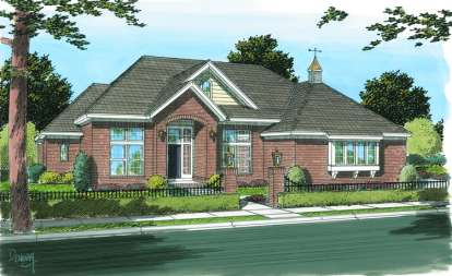 3 Bed, 3 Bath, 2665 Square Foot House Plan - #4848-00125