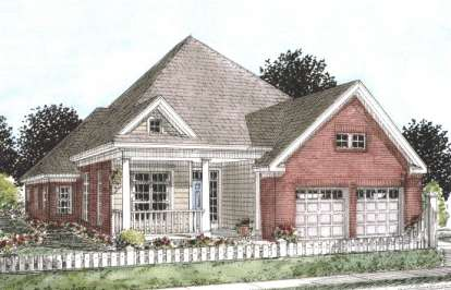 3 Bed, 2 Bath, 2116 Square Foot House Plan - #4848-00158
